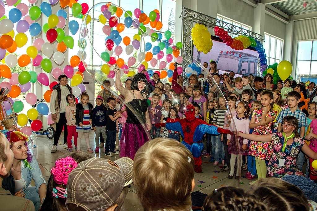 Организация детских праздников в Москве, заказать праздник
