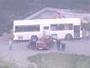 В Усть-Каменогорске легковой автомобиль врезался в автобус