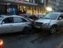 В Усть-Каменогорске ДТП с участием нескольких машин попало на видео