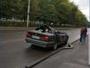 В Усть-Каменогорске водитель иномарки чудом остался жив во время ДТП